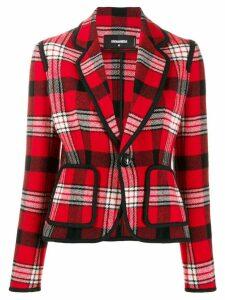 Dsquared2 tartan pattern blazer