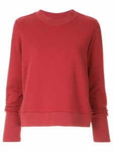 Nobody Denim Favourite Sweat sweatshirt - Red