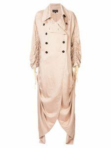 Ann Demeulemeester Valery coat - Pink
