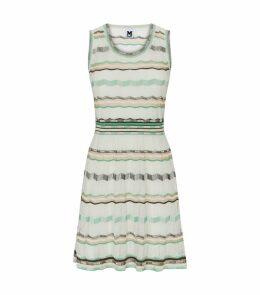 Zig Zag Knitted Dress