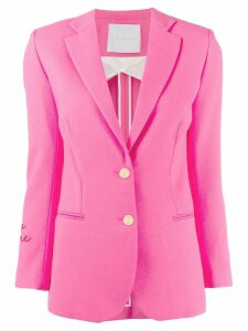Giada Benincasa single breasted blazer - Pink