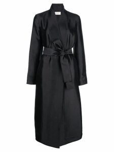 The Row tie waist coat - Black