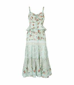 Victoria Floral Midi Dress