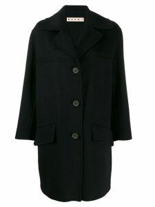 Marni Giubbino welt detail overcoat - Black