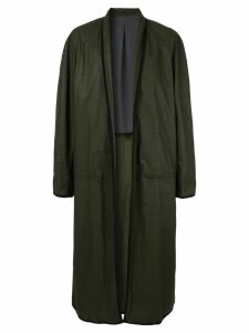 Haider Ackermann open front coat - Green