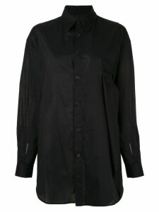 Y's plain shirt - Black