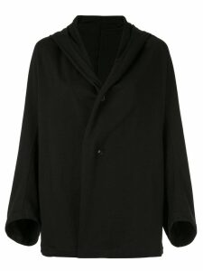 Y's hooded cardigan - Black