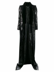 Dsquared2 sequin long coat - Black