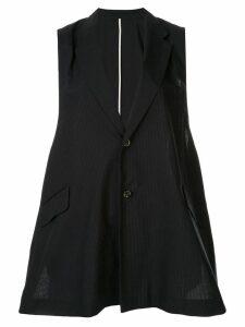 Ujoh oversized waistcoat - Blue
