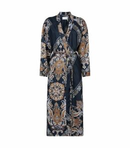 Paisley Belted Coat