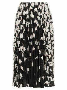 Valentino Bucaneve floral print midi skirt - Multicolour