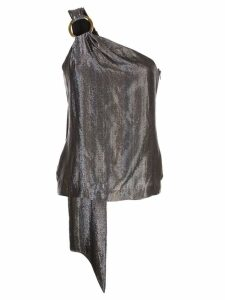 Haney metallic vest top - Silver