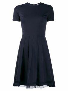 Red Valentino pussy bow mini dress - Blue