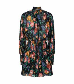Zim P Allia Shirred Short Dress
