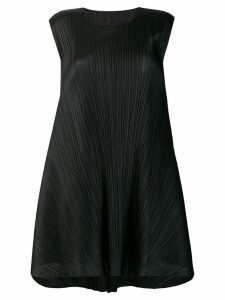 Pleats Please By Issey Miyake Luster tunic dress - Black