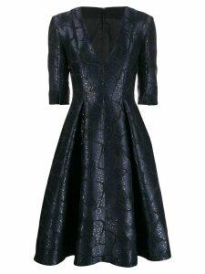 Talbot Runhof Torin dress - Blue