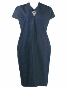 Mm6 Maison Margiela denim shift dress - Blue