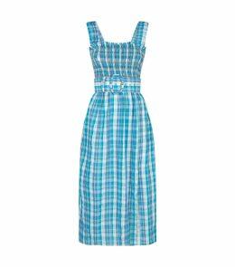 Smocked Apron Dress