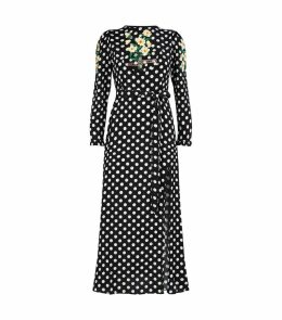 Clemmie Embroidered Midi Dress