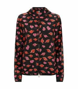 Vive Lip Print Jacket