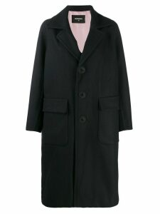 Dsquared2 classic single-breasted coat - Blue