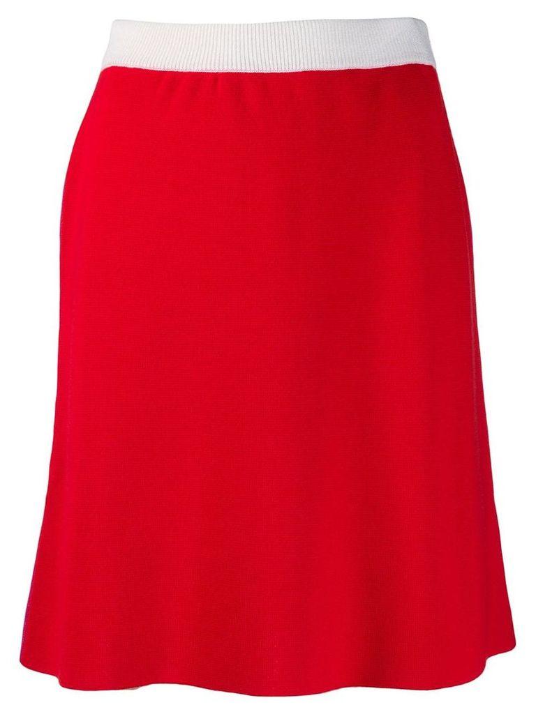 Marni mid-length skirt - Red