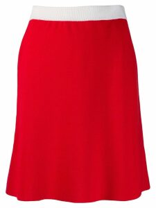 Marni mid-length skirt - Red
