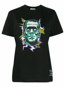 Prada Frankenstein print T-shirt - Black