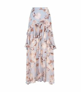 Balmy Night Floral Skirt