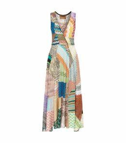 Patchwork Zig Zag Dress