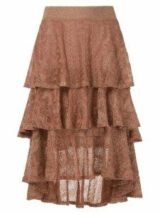 Cecilia Prado Guida skirt - Gold