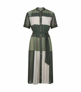 Mariette Colour-Block Shirt Dress