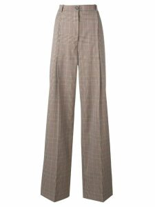 Nina Ricci high-rise trousers - Brown