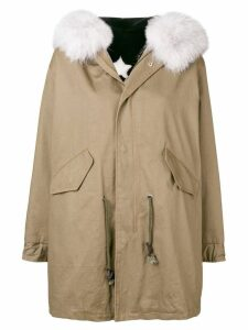 Liska fur trimmed parka - Green