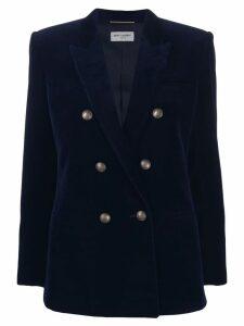 Saint Laurent double-breasted blazer - Blue