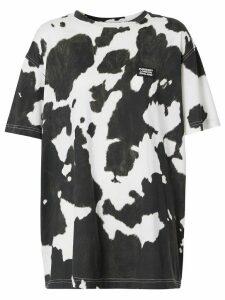 Burberry cow print t-shirt - Black