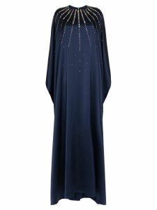 Carolina Herrera crystal-embellished gown - Blue