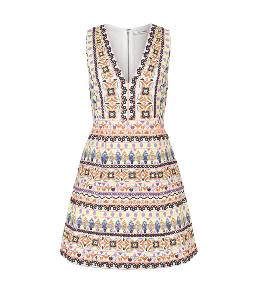 Patty Embroidered Dress