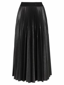 Givenchy pleated midi skirt - 001 Black