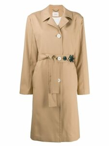 Dorothee Schumacher Hazelwood trench coat - Neutrals