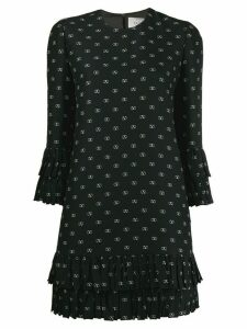 Valentino VLOGO polka dot shift dress - Black