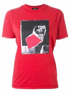 Yang Li printed T-shirt - Red