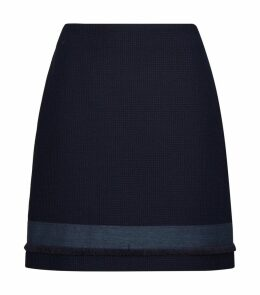 Contrast Panel Skirt