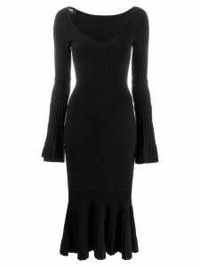 Dsquared2 ribbed tube dress - Black