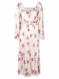 Nicholas floral day dress - Pink