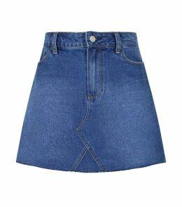 Aideen Denim Mini Skirt