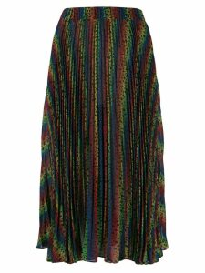 Michael Michael Kors rainbow pleated skirt - Black