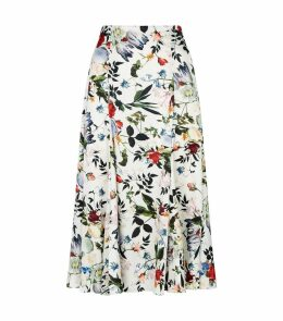 Vesper Edith Silk Skirt