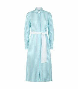 Vanessa Striped Shirt Dress