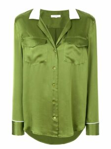 Equipment contrast collar shirt - Green
